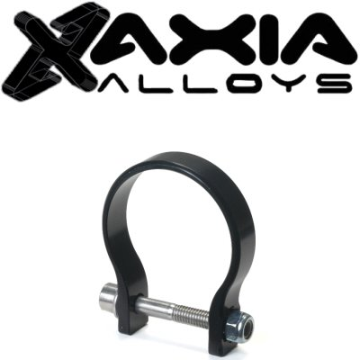 - Axia Alloys 1.75 Inch Diameter Black Anodized Clamp