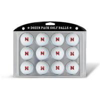 Team Golf Nebraska Cornhuskers Golf Balls, 12 Pack