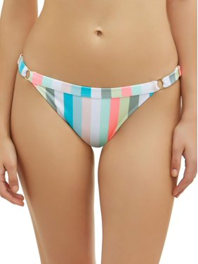 f48b16dd6ee Product Image Juniors' Pastel Lines Scoop Swimsuit Bottom