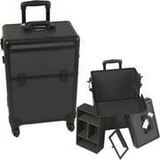 E6301DTAB All Black Dot 4-Wheels Case - E6301