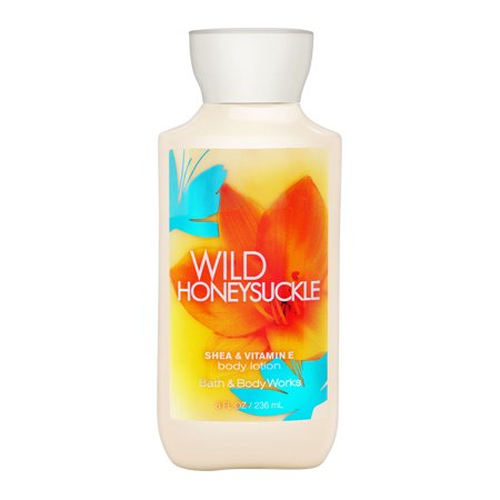 Bath & Body Works Wild Honeysuckle 8.0 oz Shea & Vitamin E Body Lotion - Bath And Body Works Halloween Lotion 2017