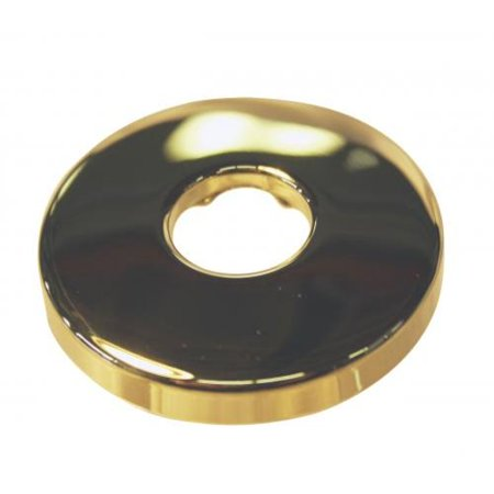 Westbrass D304-01 .5 in. IPS Brass Sure Grip Shower Arm Flange - Pvd Polished Brass ()