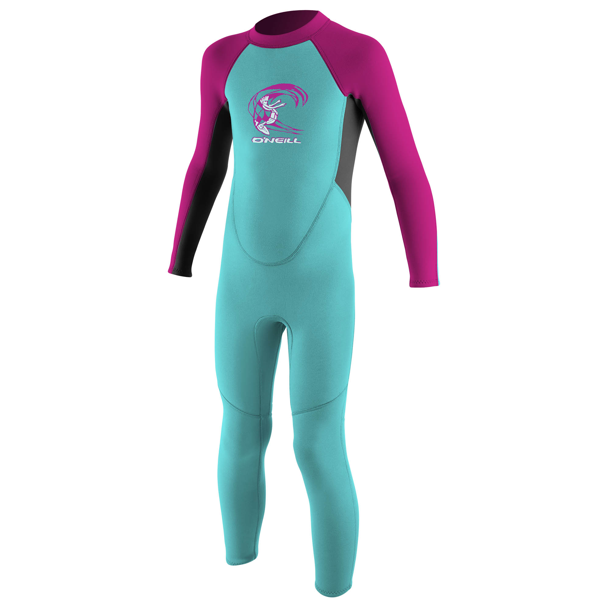 O'NEILL TODDLER REACTOR-2 2MM BACK ZIP FULL WETSUIT (Multiple Colors and Sizes)