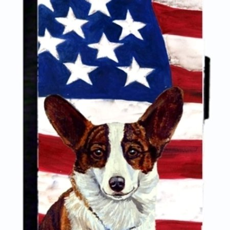 online retailer 34ff1 4d699 USA American Flag with Corgi Cell Phonebook Cell Phone case Cover for  IPHONE 5 or 5S