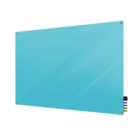 HMYSN23BE Ghent Glassboards Harmony Markerboard Square Corners Glass Whiteboard 2