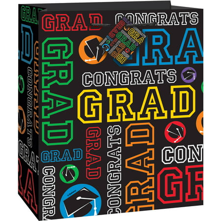 Graduation Party Gift Bag, 9 x 7 in, 1ct - Graduation Gift Bags