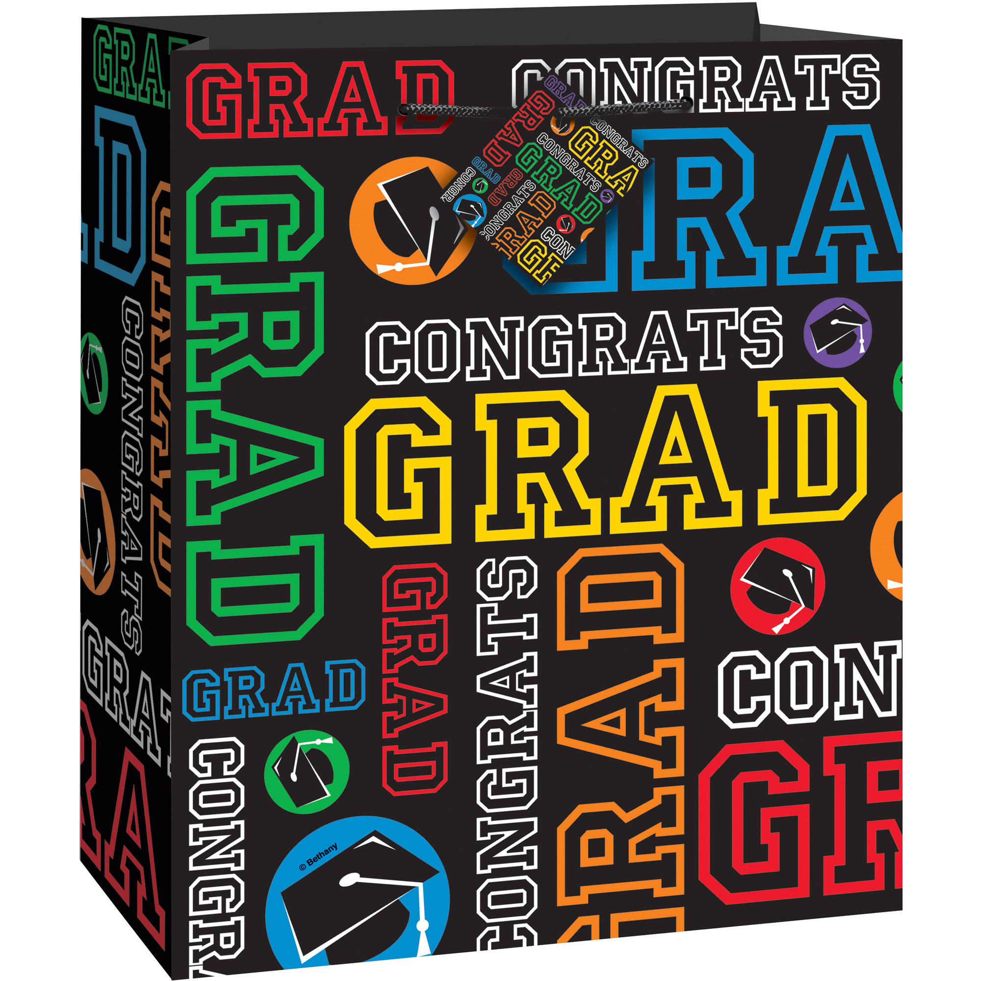 Graduation Party Gift Bag, 9 x 7 in, 1ct