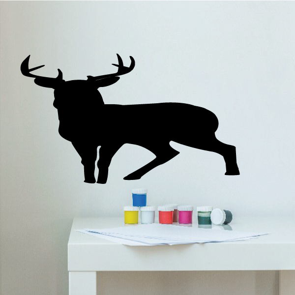 Deer Wall Decal - Vinyl Decal - Car Decal - Vd002 - 36 Inches