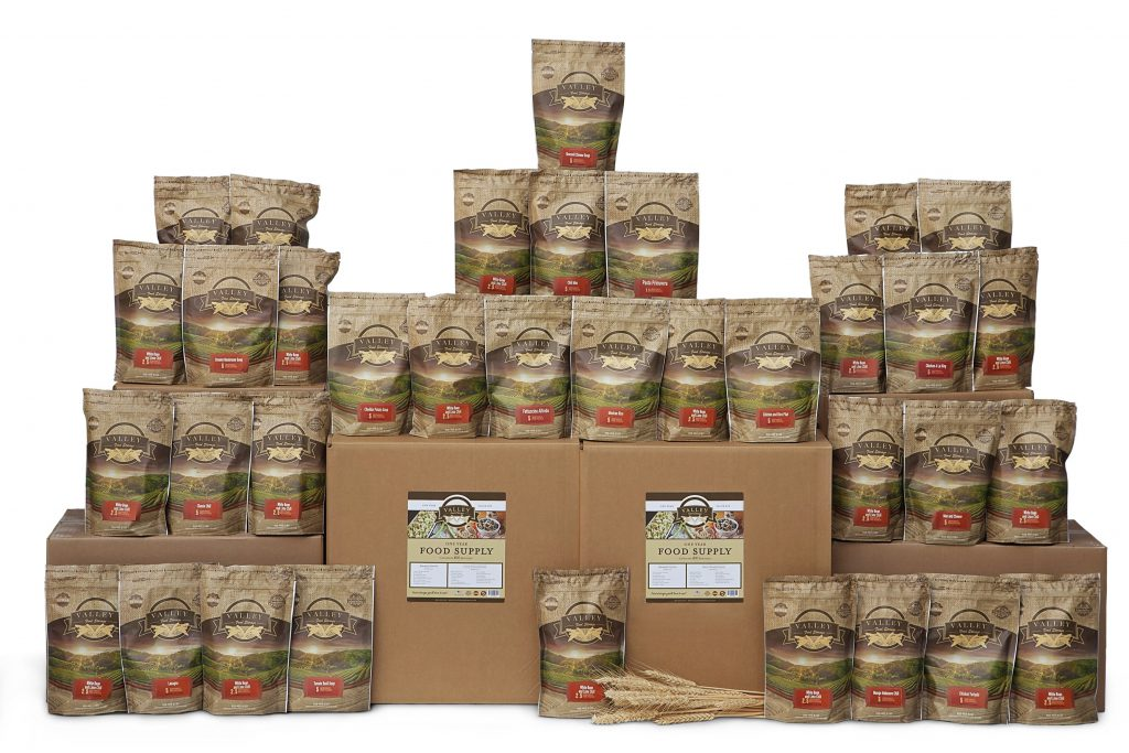 1 Year Food Supply Long Term, Great Tasting Freeze Dried Food Emergency Food You'd love to eat! Valley Food Storage by Valley Food Storage