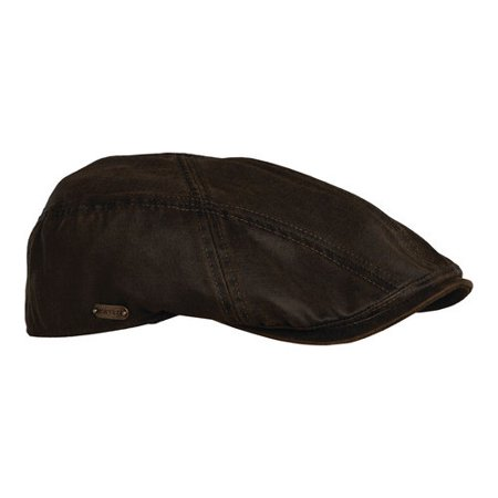 fb5d72851d3e8f DORFMAN PACIFIC - New Stetson Men's Weathered Cotton IVY Cap, Brown, Medium  - Walmart.com