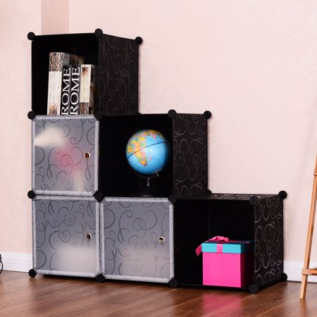 playful cubic shelves storages bookcase bookcases