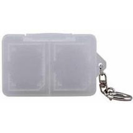 Digital Sd And Xd Memory Card Keychain Holder Case  Holds 4 Cards
