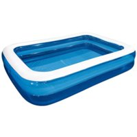 Aunavey Family Swimming Pool Home Backyard Outdoor Bathing Tub Inflatable Paddling Pools Summer Best Gift for Kids (Blue, 78.7*59*20inch)