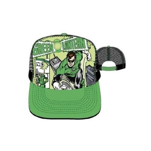 DC Comics Green Lantern Action Pose Mesh Back Trucker Hat
