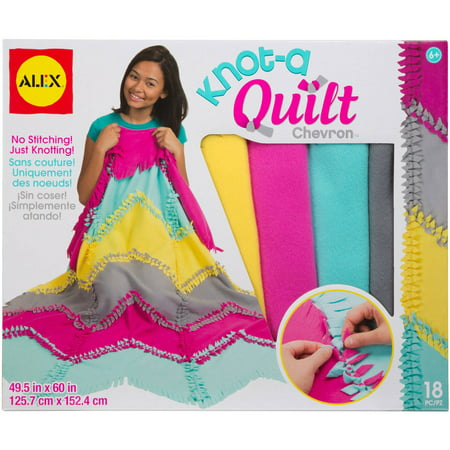 Knot Template - ALEX Toys Craft Knot A Quilt Chevron