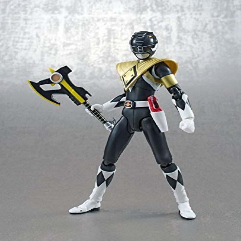 "Bandai Tamashii Nations SH Figuarts Armored Black Ranger SDCC Exclusive ""Mighty... by"
