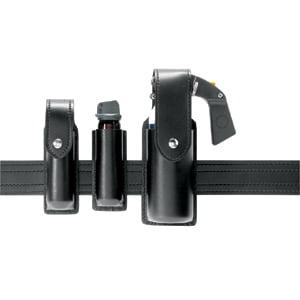 Safariland 38-4-23PBL OC Spray Holder, Standard, Top Flap Holster - 38-4-23PBL - Safariland