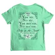 Live Oak Brand Youth Yes Sir No Sir T-Shirt