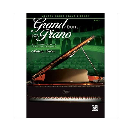 Alfred 00-32153 Grand Duets for Piano- Book 2 - Music Book