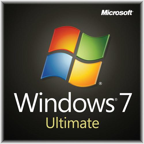 Microsoft Windows 7 Ultimate w/SP1 64-bit-System Builder License and Media - 1 PC, GLC-01844