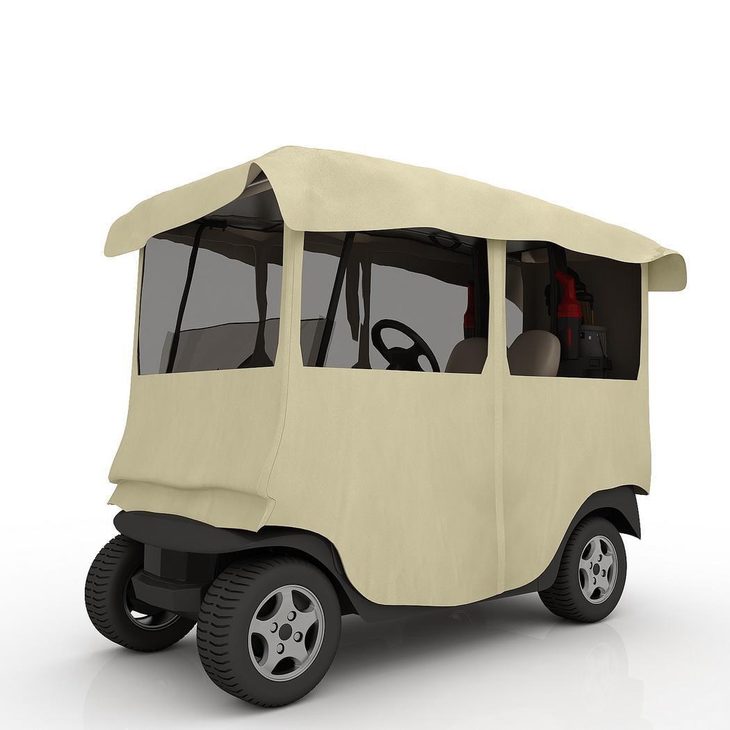 Portable Golf Cart Cover 4 Passenger Yamaha Drive 210D Po...
