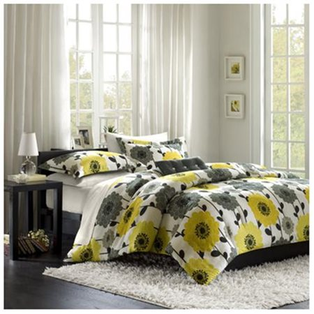 Home Essence Apartment Blythe Mini Comforter Set, Yellow