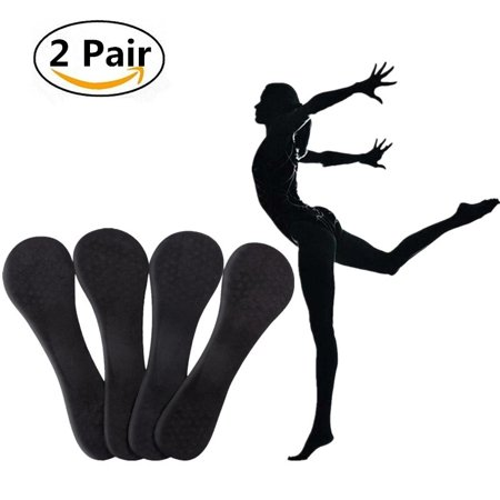 Yosoo 2 Pairs Sports Gel Insoles and Shoe Inserts for Women Comfort Shoe Insoles 3/4 Arch Support 2-7.5 Shoes Size for Walking Hiking Plantar Fasciitis Heel Spur Foot
