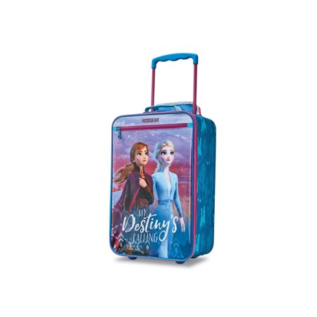 American Tourister Disney Frozen 2 Kids' 18-inch Softside, Carry-On Luggage, One Piece