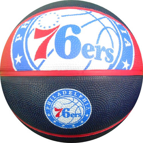 Spalding NBA Courtside Philadelphia 76ers Full-Size Basketball
