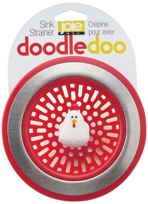 Joie Doodle Doo Kitchen Sink Strainer Basket, Rooster, 4.5-inch by MSC International