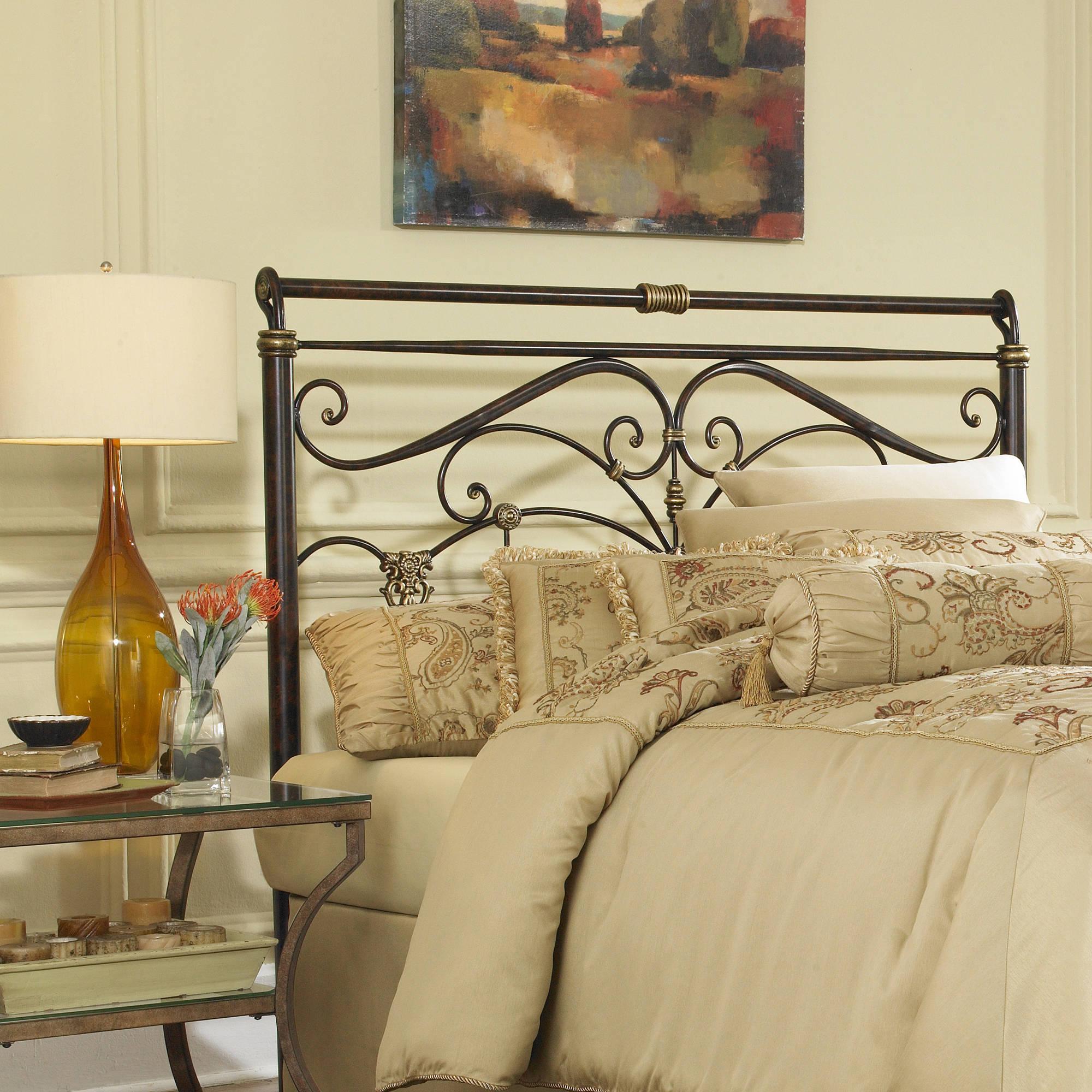 Leggett & Platt Fashion Bed Group Lucinda Headboard, Marbled Russet
