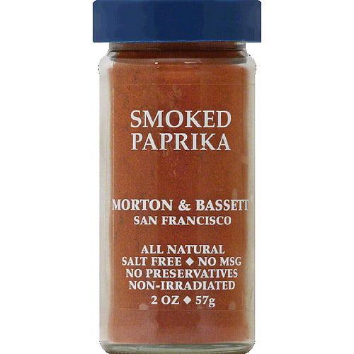 Morton & Bassett Smoked Paprika, 2 oz, (Pack of 3)