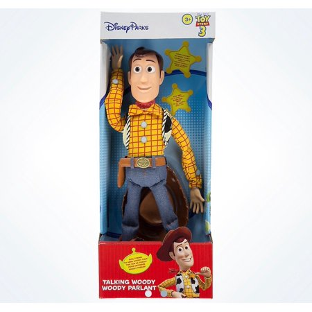 Disney Parks Pixar Toy Story Talking Woody Figure New with Box (Talking Chucky)