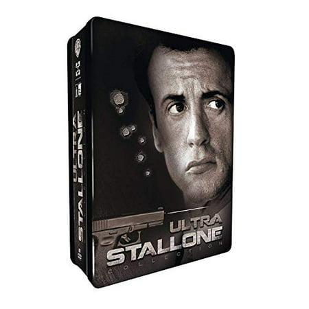 Ultimate Stallone - 8-DVD Steel Box Set ( Get Carter / The Specialist / Driven / Demolition Man / Cobra / Assassins / Tango & Cash / Victory ) (Steelbook [ NON-USA FORMAT, PAL, Reg.2 Import -