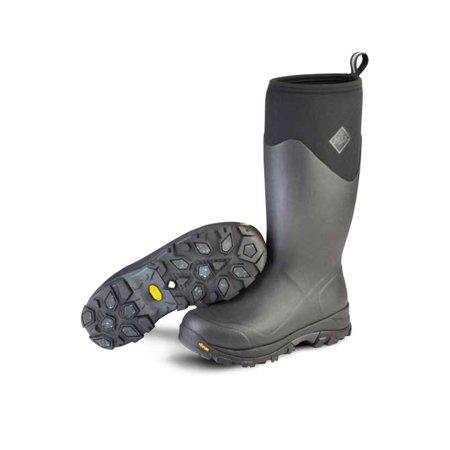Muck Boot Men's Arctic Ice Sport Snow Boots Black Rubber Neoprene Fleece 9