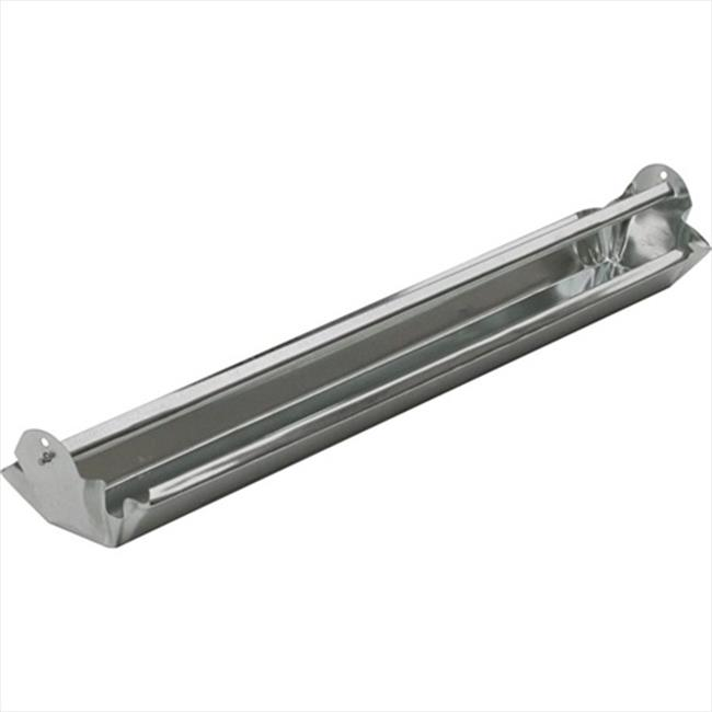 TekSupply 110087 Galvanized Trough Feeder 24 in