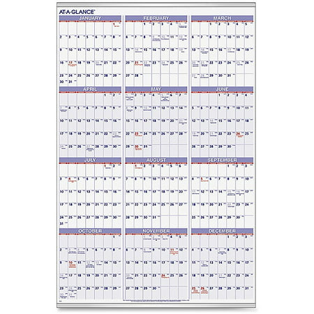Bug Jar Calendar (At-A-Glance Recycled Yearly Planning Wall)