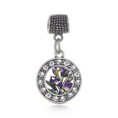 Iris Flower Circle Memory (Young Flower Charm)