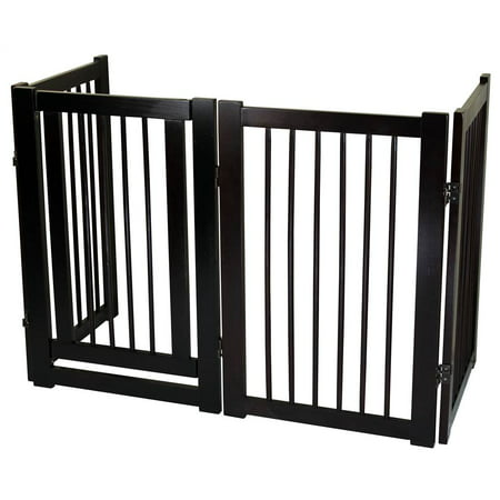 Free Standing Pet Gate with (Freestanding Gate)