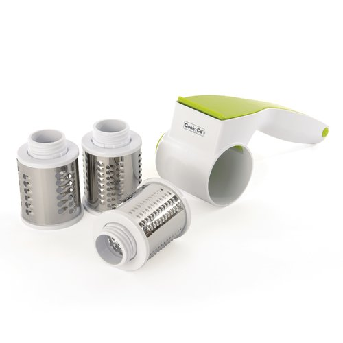 Berghoff CookNCo 5pc Rotary Cheese Grater Set by BergHOFF International