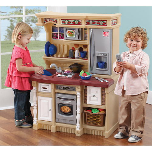 Step 2 Lifestyle Kitchen step2 lifestyle custom kitchen includes 20-piece accessory set