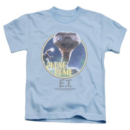 Juvenile: E.T. - Phone Home Apparel Kids T-Shirt - Blue - Online Kids Apparel