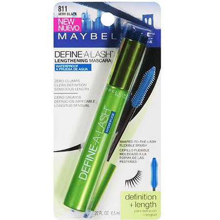 Maybelline Define A Lash Waterproof Mascara  Very Black