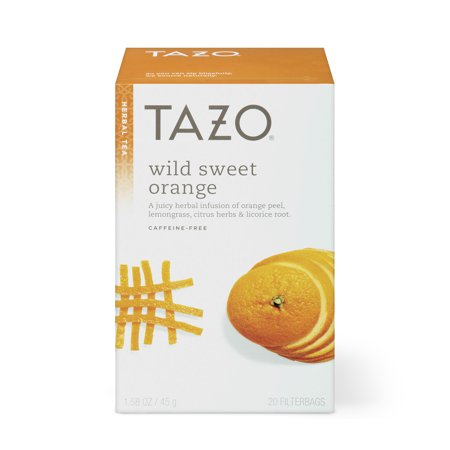 Tazo Wild Sweet Orange Herbal Tea Filterbags (20 count)