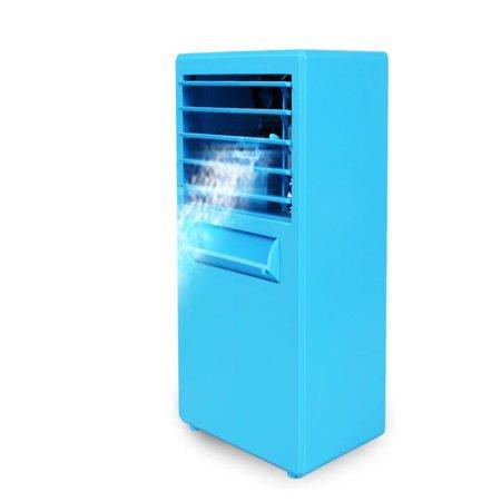 OkrayDirect Portable Air Conditioner Fan Mini Evaporative Air Circulator Cooler Humidifier
