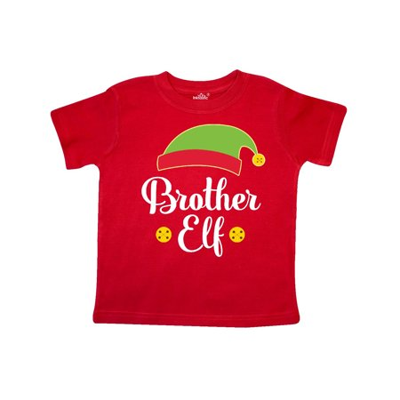 Christmas Brother Elf Holiday Toddler T-Shirt - Toddler Elf