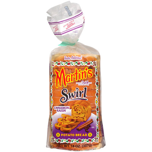 Martin's Cinnamon Raisin Swirl Potato Bread, 14 oz