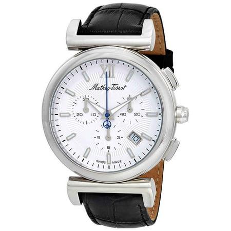 Elegance Chronograph White Dial Mens Watch H410CHALI (Elegant Chronograph)