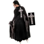 Black Celtic Halloween Cape