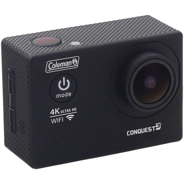 Coleman(R) CX14WP 16.0-Megapixel Conquest3 4K Ultra HD Wi-Fi(R) Waterproof Sports Camera Kit by Coleman
